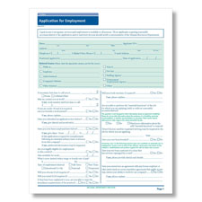 Indiana State-Compliant Job Application