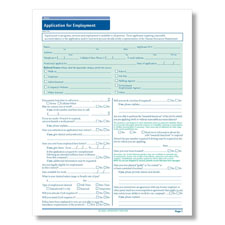 Maine State-Compliant Job Application