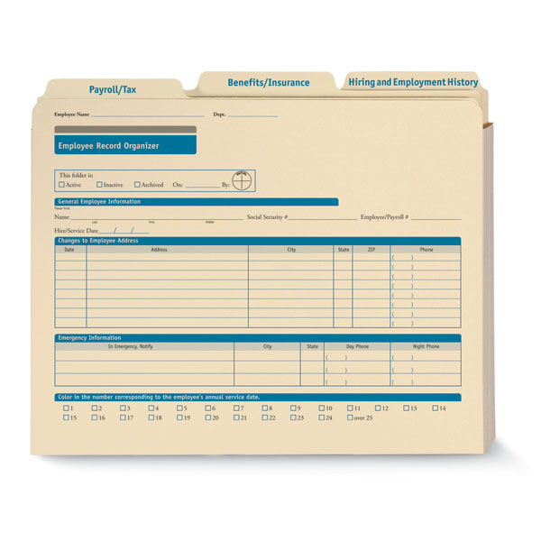 Employee Record Organizer for Small Businesses