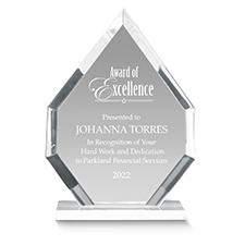Diamante Acrylic Award