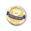 Workplace Anniversary Pin