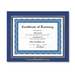Our prestigious employee award frames offer you the look of leather <br>at an affordable price.