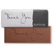 Elegant Thank You Chocolate Bar