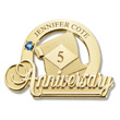 Commemorative Anniversary Pin