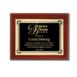 Recognize achievements with custom-engraved award plaques