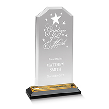 Star-Studded Employee of the Month Individual Award