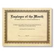 Reward employee achievements with eye-catching award certificates