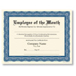 Personalized Navy and Cream Award Certificates