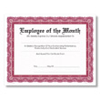 Personalized Burgundy Award Certificates