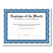 Celebrate employee achievements with the Navy & White Certificate.