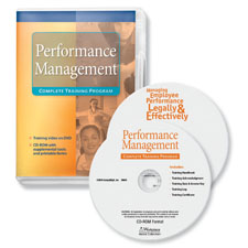 Manage employee performance legally and effectively