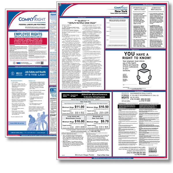 New york federal state labor law poster employment law poster new york federal state labor law posters new york labor law poster ny sciox Choice Image