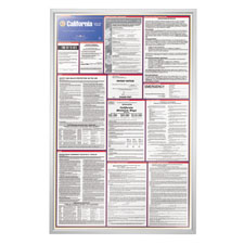 Labor Law State Poster Frame