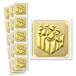 Elegant envelope seals add an affordable touch of class