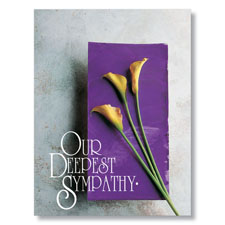 With Our Deepest Sympathy Card