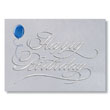Classic Silver Birthday Cards