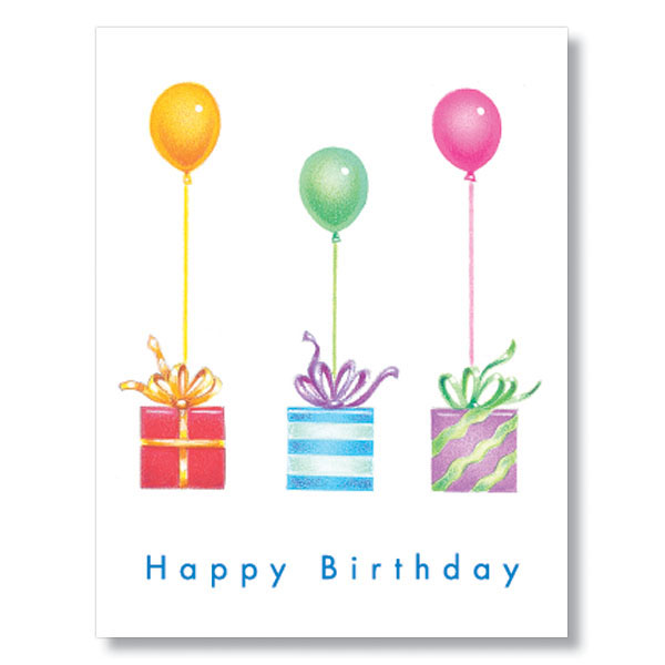 Gifts Balloons Employee Birthday Cards – Birthday Card Gift