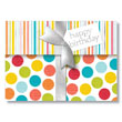 Tri-fold Birthday Gift Card