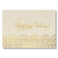 Check out this Elegant Birthday Wishes greeting card design.