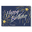 Recognize employee birthdays with a foil business birthday card