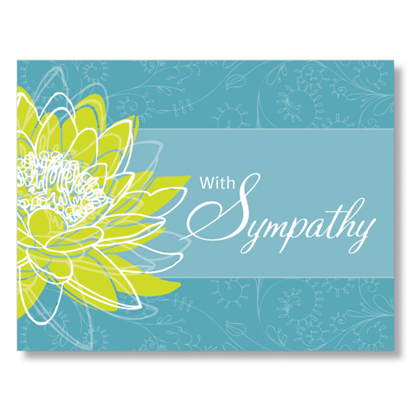 Soothing Words of Sympathy Cards for Businesses
