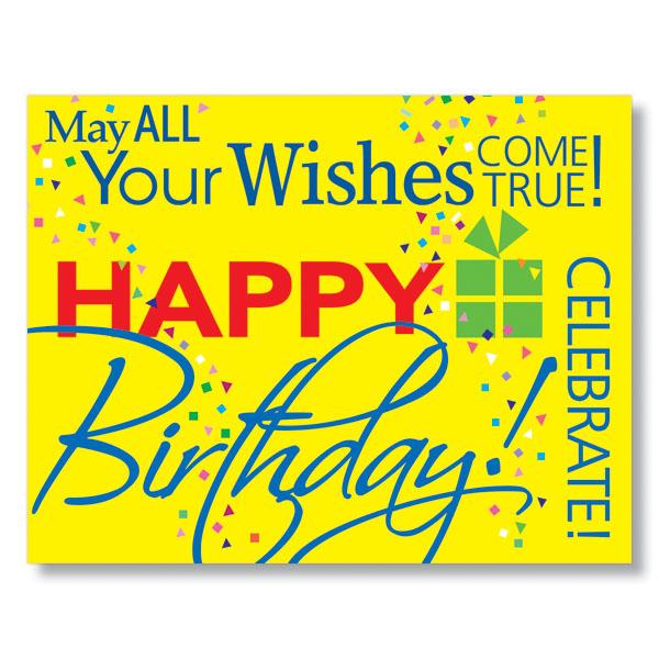 contemporary birthday card  corporate birthday cards