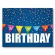 Birthday Color Banner Card