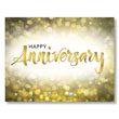 Share your work anniversary greetings and appreciation with one of our PY Gold Sparkle employee anniversary cards.