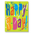 Share business birthday wishes with clients & employees using our PY Happy B-Day Confetti corporate birthday cards.