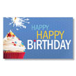 Great birthday cards for clients and employees are 1 click away. Visit HRdirect to see our FE Birthday Cupcake and Sparkler design, and more.