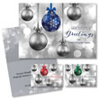 Pop-of-Color Ornament Holiday Card