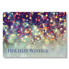 Soft Glow of the Holidays Holiday Card