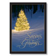 Nature's Lighted Tree Holiday Card