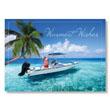 Santa's Tropical Boating Holiday Card