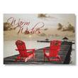 Adirondack Dock Warmth Holiday Card