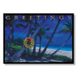 Tropical Island Greetings Holiday Card