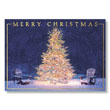Treeside Adirondacks Holiday Card