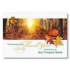 Thanksgiving Warmth Holiday Card