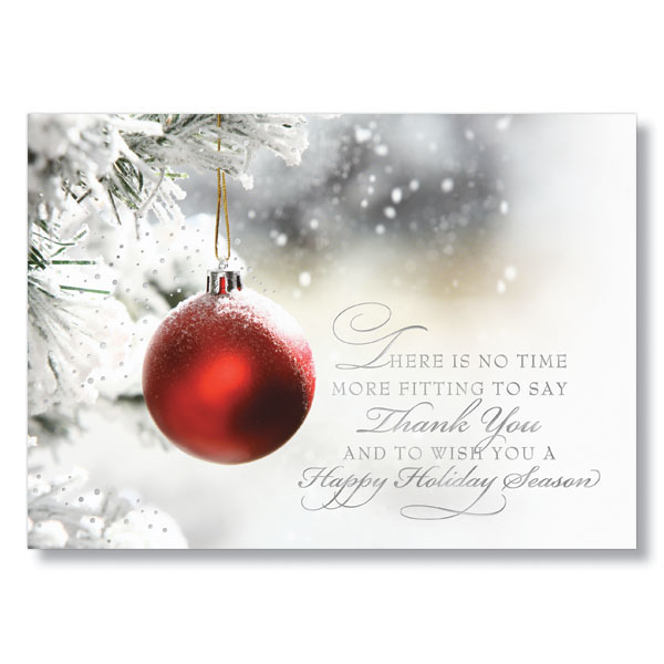 Business holiday cards quotes gallery card design and card template appreciate your business christmas cards choice image card design christmas card greetings thank you the best reheart