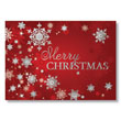 Christmas Snowflakes Holiday Card