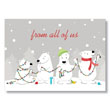Polar Bear Lighting Holiday Card
