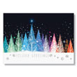 Colorful Forest Holiday Card