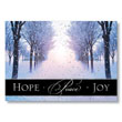 Peaceful Path Holiday Card