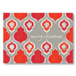 Cheery Pattern Christmas Holiday Card
