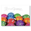 Colorful Ornament Collection Holiday Card