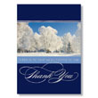 Wintry Thank You Holiday Card