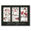 Festive Berries Framed Holiday Card