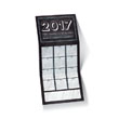 Chalkboard Calendar Holiday Card
