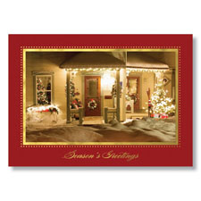 Warm Winter Welcome Holiday Card