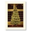 Elegant Christmas Tree Holiday Card